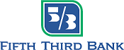 Blue and Green Fifth Third Bank logo