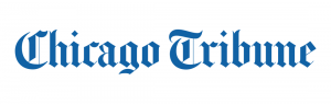 Blue chicago Tribune logo