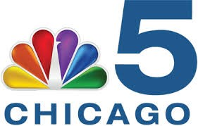 NBC 5 Chicago logo featuring NBC rainbow peacock