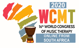 World Congress of Music Therapy 2020 flyer.