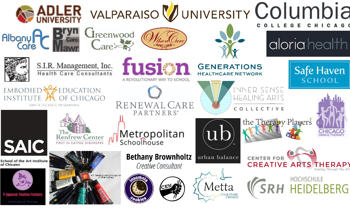 Collage of past conference sponsors.